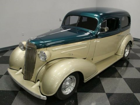 bored small block 1936 Chevrolet Streetrod hot rod for sale