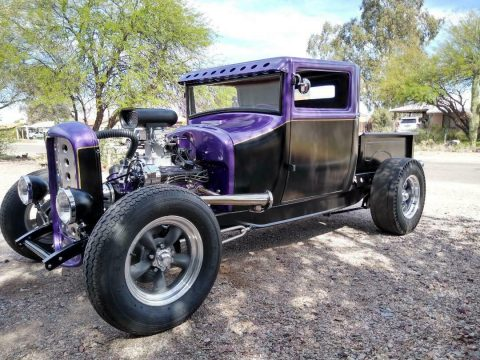 chopped 1927 Ford Model T hot rod for sale