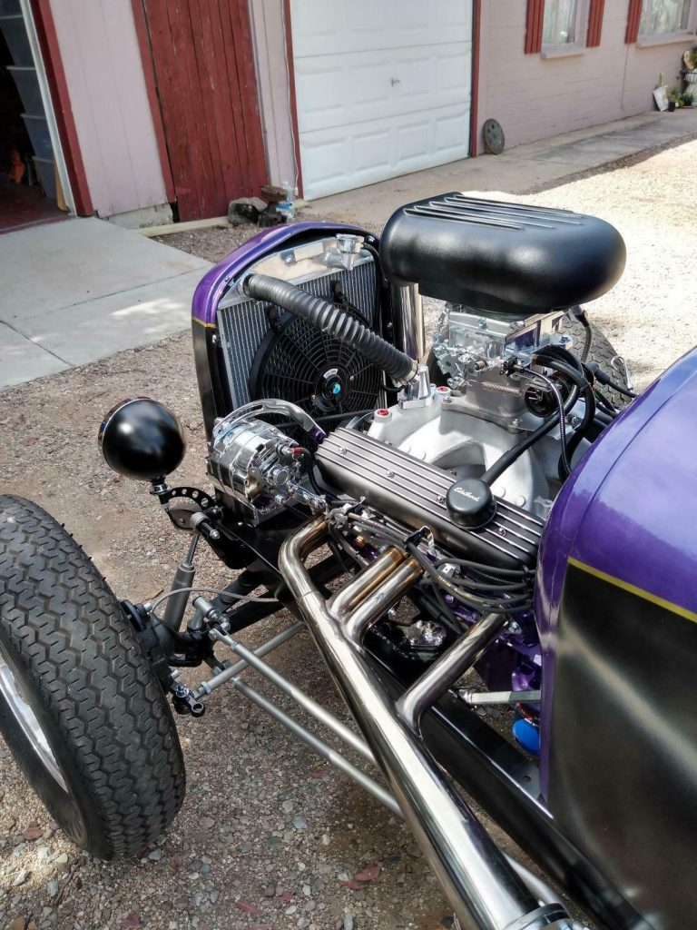 chopped 1927 Ford Model T hot rod