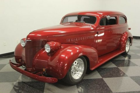 chopped 1939 Chevrolet 85 Streetrod hot rod for sale