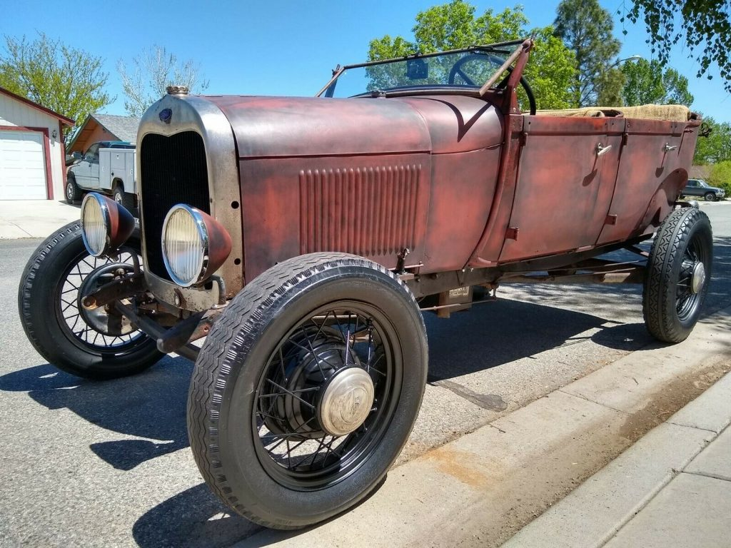 classic 1929 Ford Model A Phaeton hot rod