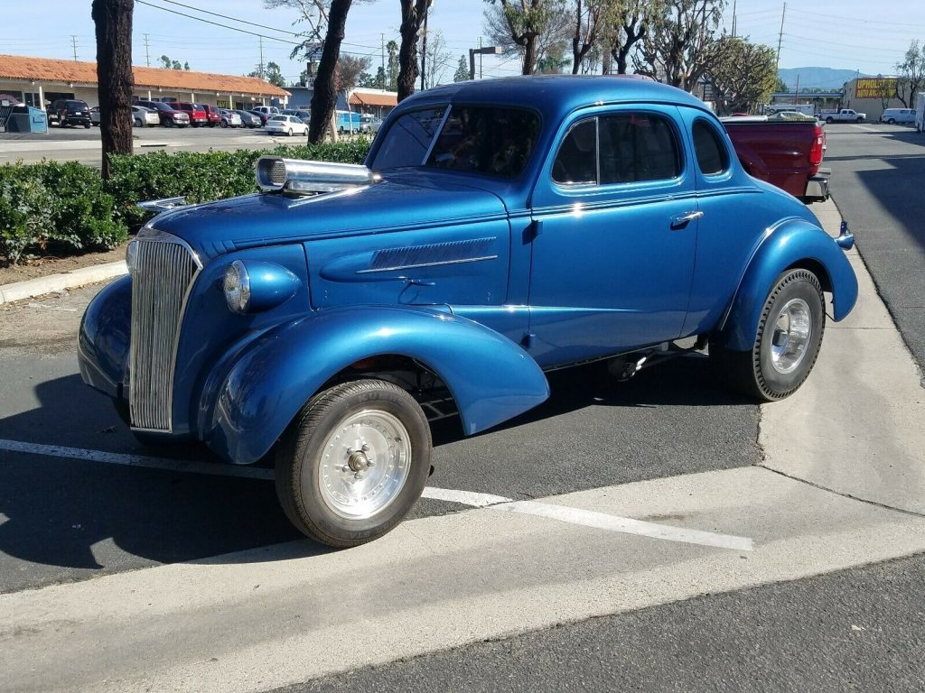 gasser 1937 Chevrolet Coupe hot rod