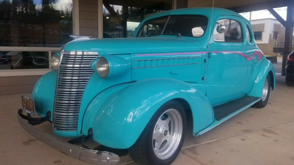 head turner 1938 Chevrolet Coupe hot rod