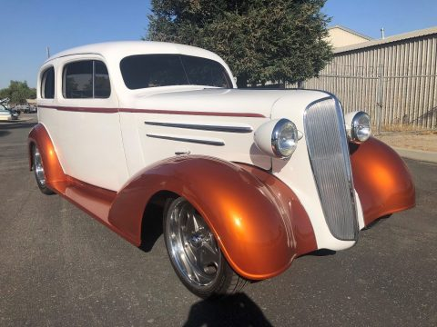 lots of mods 1936 Chevrolet Master Sedan hot rod for sale