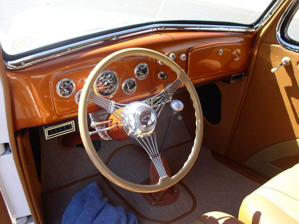 lots of mods 1936 Chevrolet Master Sedan hot rod