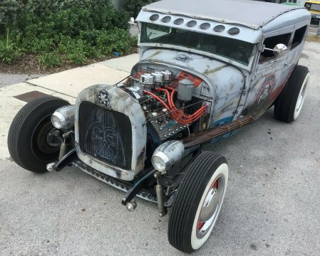 nice airbrush 1929 Ford Model A hot rod for sale