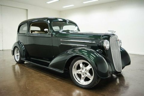 nice restomod 1936 Chevrolet Master Deluxe hot rod for sale