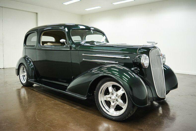 nice restomod 1936 Chevrolet Master Deluxe hot rod