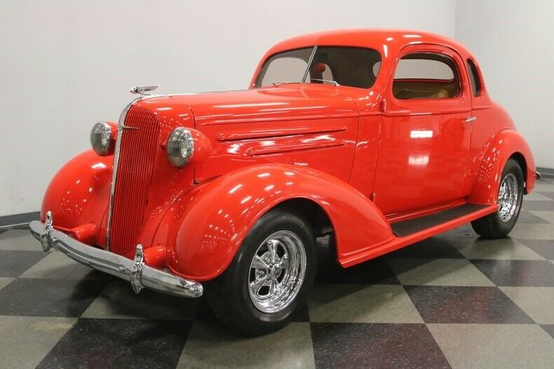 nicely modified 1936 Chevrolet Coupe hot rod