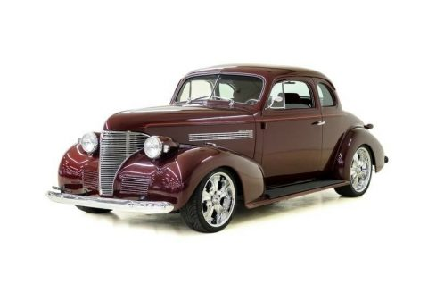 older restoration 1939 Chevrolet Master Deluxe hot rod for sale