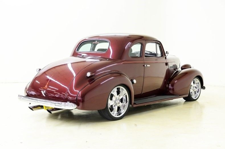 older restoration 1939 Chevrolet Master Deluxe hot rod