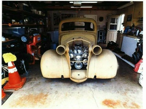 project 1938 Chevrolet Chevy 2 door Sedan hot rod for sale
