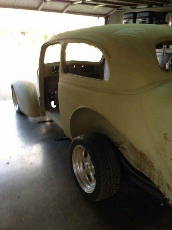 project 1938 Chevrolet Chevy 2 door Sedan hot rod