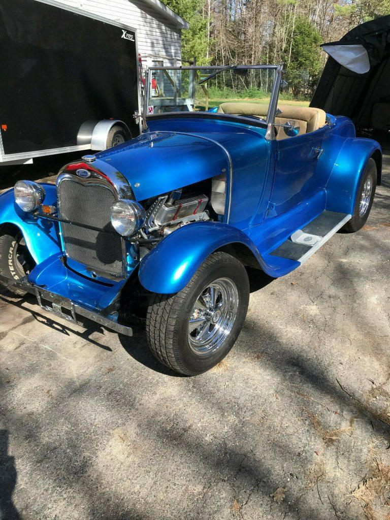 replica 1929 Ford Model A hot rod