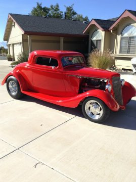 replica 1934 Ford Coupe hot rod for sale