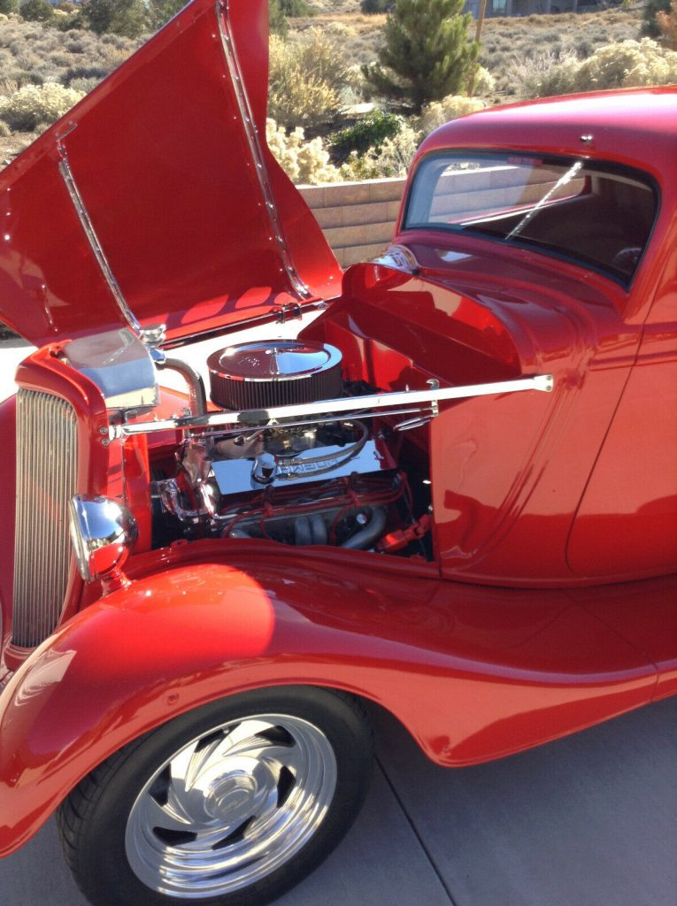 replica 1934 Ford Coupe hot rod