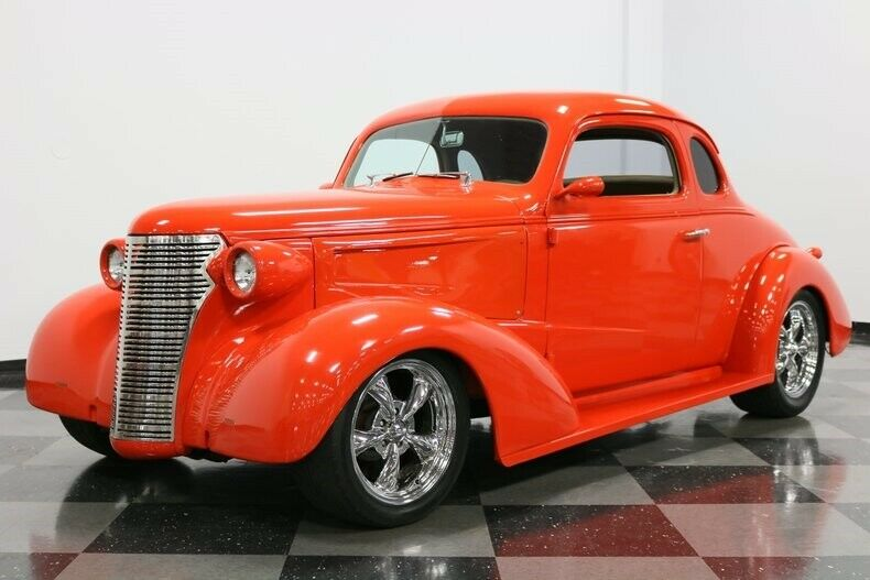 sharp looking 1938 Chevrolet Business Coupe hot rod