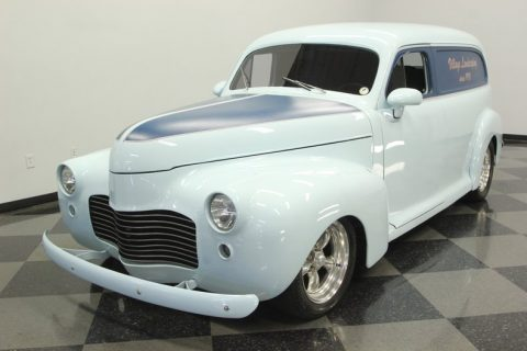 terrific 1941 Chevrolet Sedan Delivery hot rod for sale