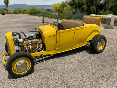 traditional 1929 Ford Model A Roadster hot rod for sale