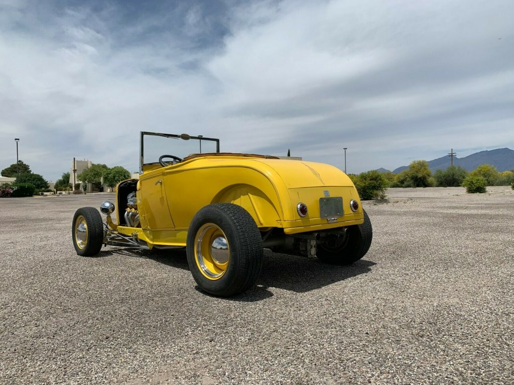 traditional 1929 Ford Model A Roadster hot rod
