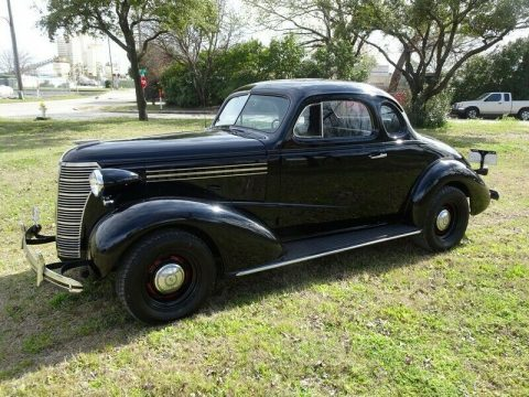 true moonshine runner 1938 Chevy Business Coupe hot rod for sale