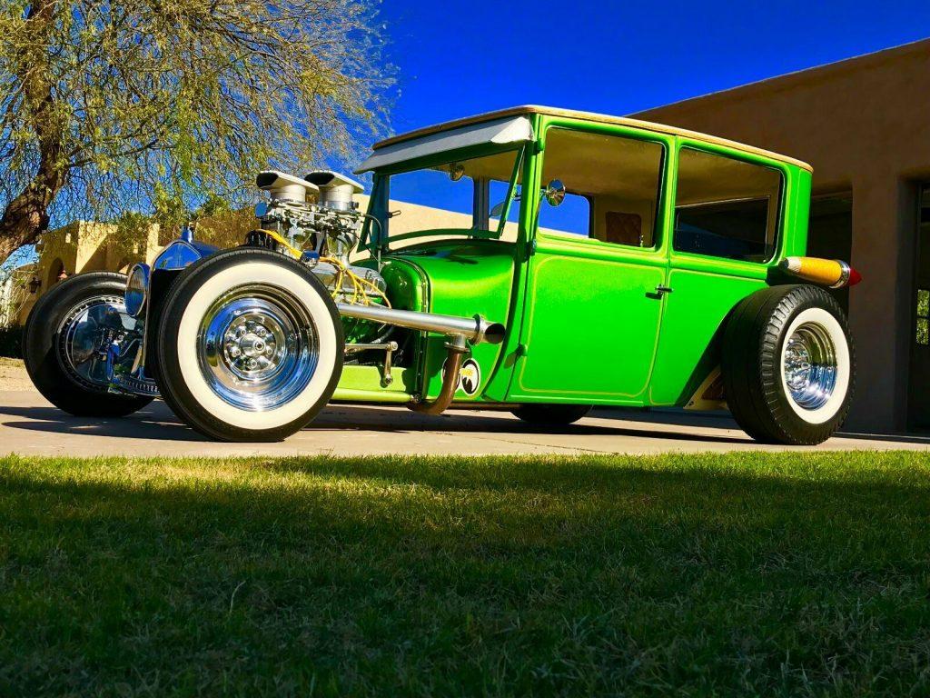 unique beauty 1926 Ford Tudor Hot Rod