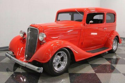 well built 1934 Chevrolet Sedan hot rod for sale
