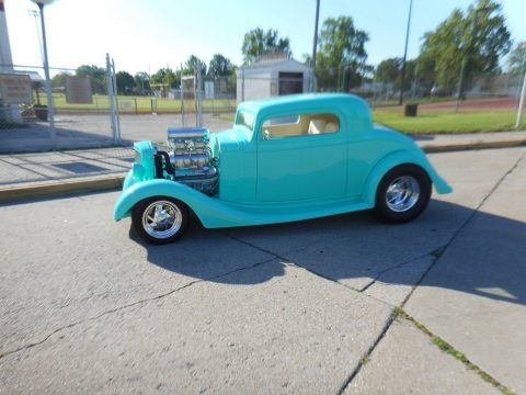 well modified 1935 Chevrolet hot rod for sale