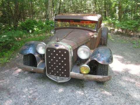 chopped 1930 Ford Pickups Brass hot rod for sale