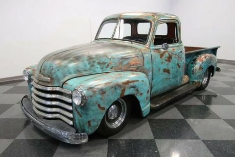 nice patina 1948 Chevrolet Pickups 5 Window hot rod for sale