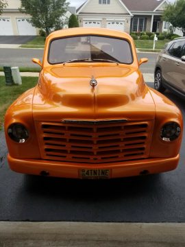 sharp 1949 Studebaker M5 pickup hot rod for sale