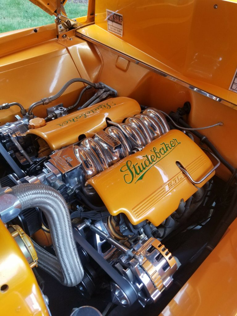 sharp 1949 Studebaker M5 pickup hot rod