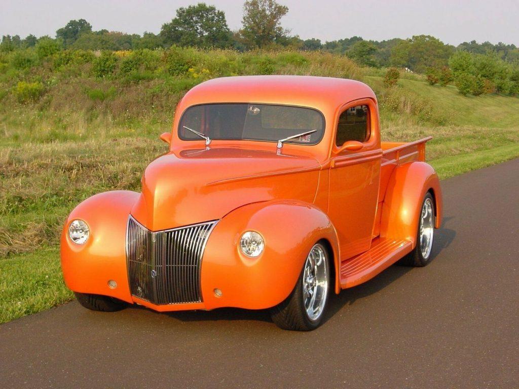 streetrod 1941 Ford Pickup hot rod