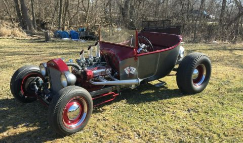 cool classic 1923 Ford Roadster hot rod for sale