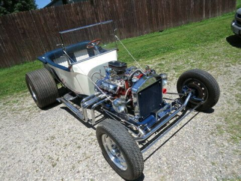 Olds powered 1923 Ford T Bucket hot rod for sale