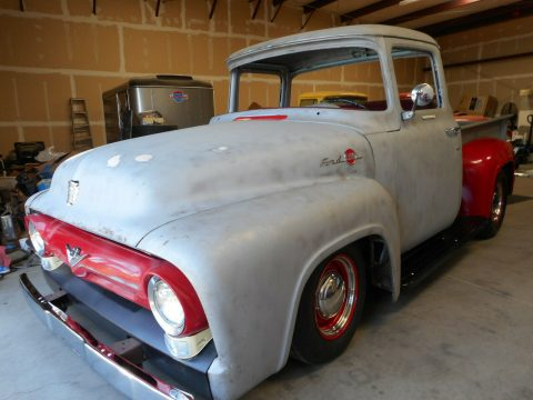 project 1956 Ford F 100 Big Window pickup hot rod for sale