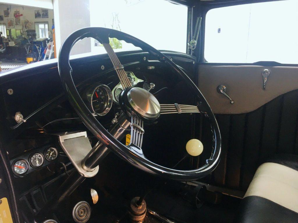 classic 1930 Ford Model A hot rod