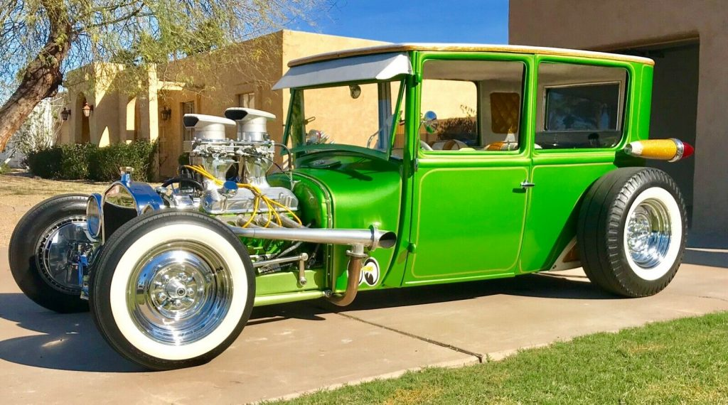 slick 1926 Ford Gasser KUSTOM hot rod