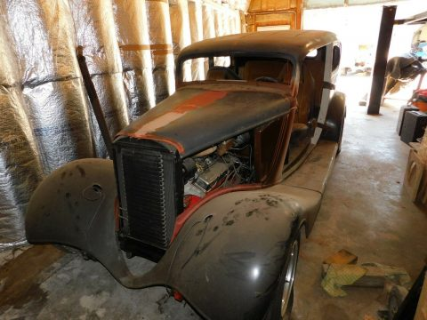 project 1933 Ford Victoria Hot Rod for sale