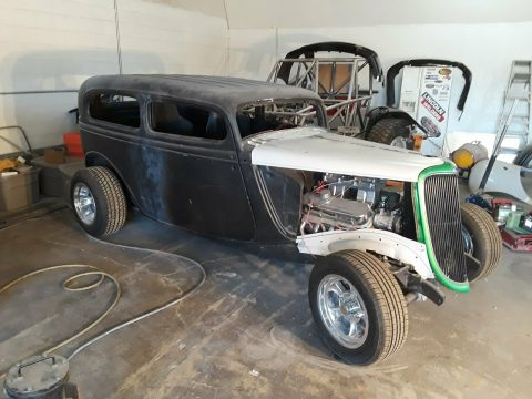 project 1934 Ford Tudor hot rod for sale