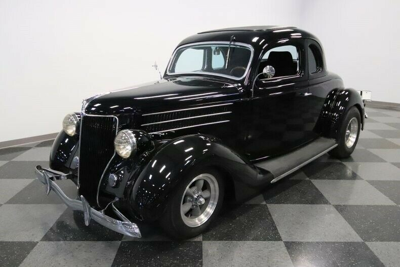 restomod 1936 Ford 5 Window hot rod