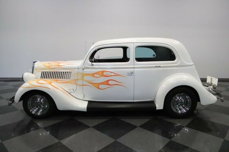 restored 1935 Ford hot rod