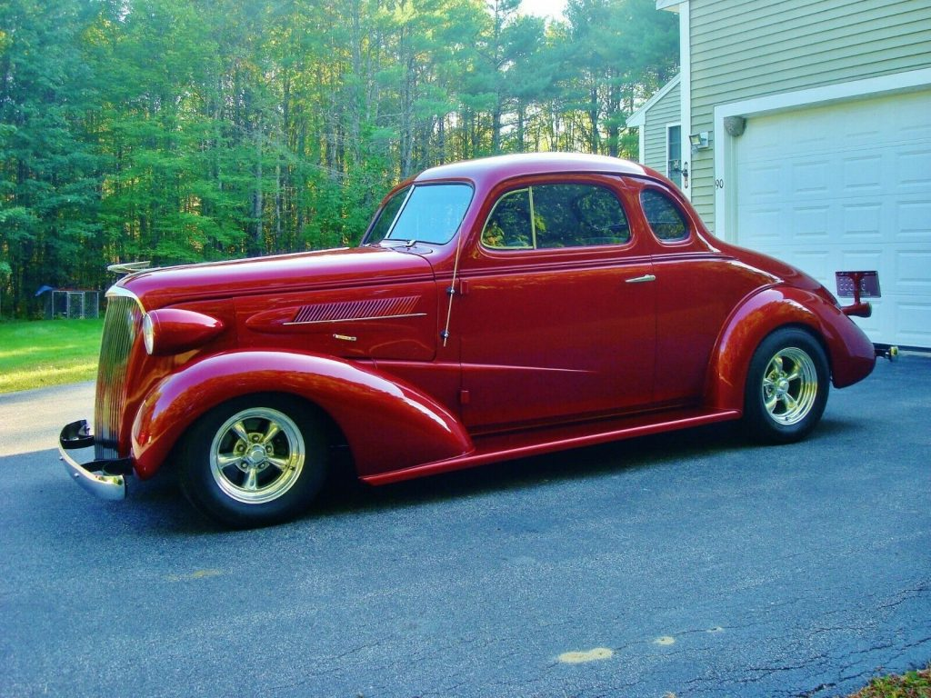 rust free 1937 Chevrolet 5 Window Coupe hot rod