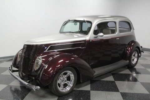 well built 1937 Ford Two Door hot rod for sale