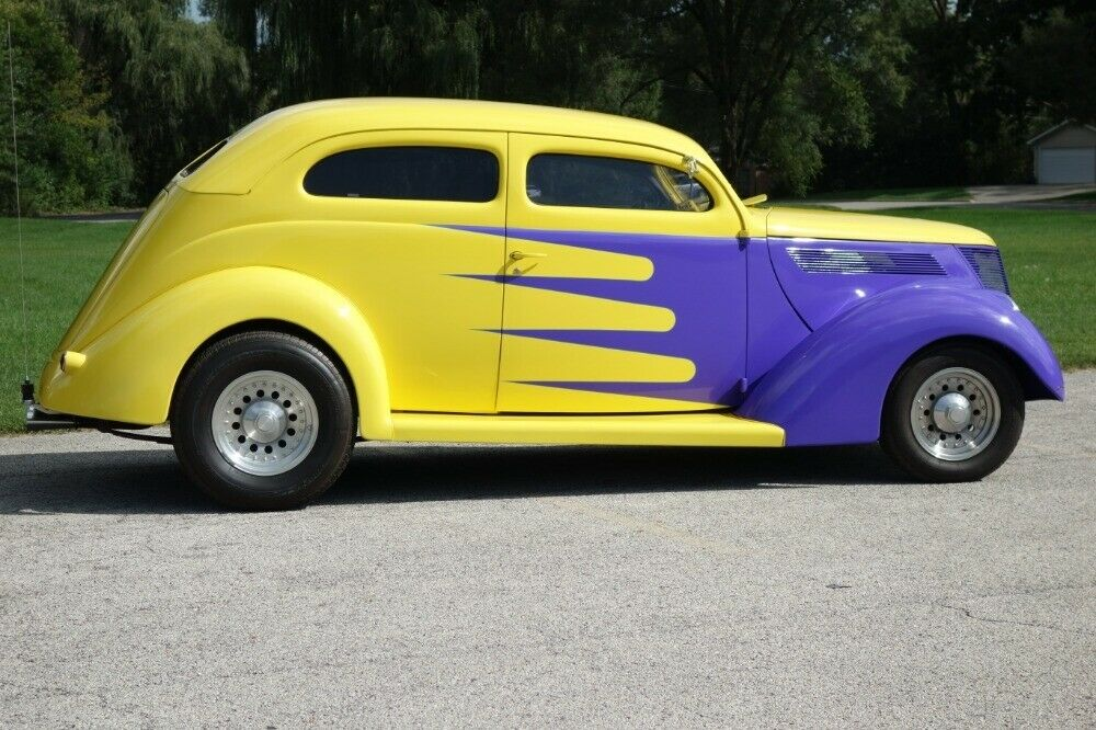 well modified 1937 Ford Hot Rod