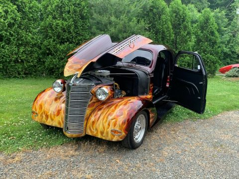 mint 1938 Chevrolet Master Deluxe Chrome hot rod for sale