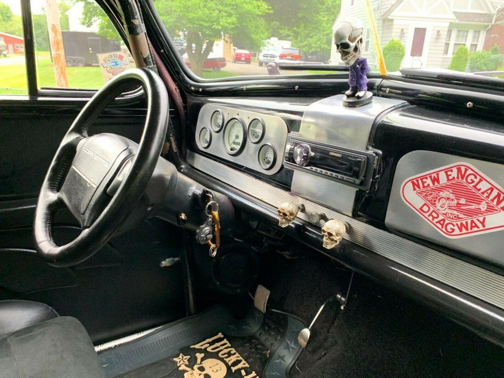 mint 1938 Chevrolet Master Deluxe Chrome hot rod
