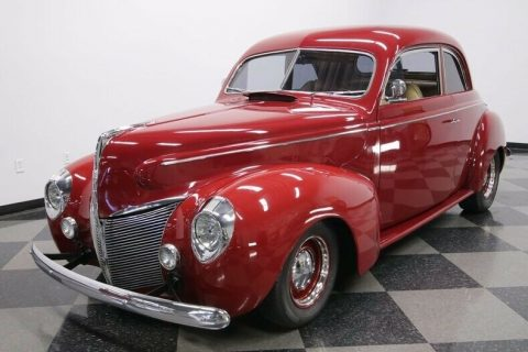 mint 1940 Mercury Coupe hot rod for sale