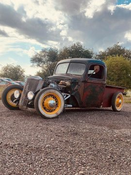 nice patina 1946 Ford Pickup hot rod for sale