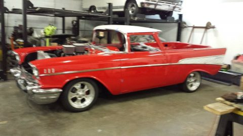 one of a kind 1957 Chevrolet El Camino hot rod for sale